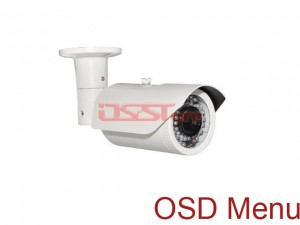 New Arrivals! OSD Menu 1/3 Sony 760H 650TVL Waterproof Color CCD Camera 4~9mm Varifocal Lens 40m IR Distance 36Pcs LED For Night Vision