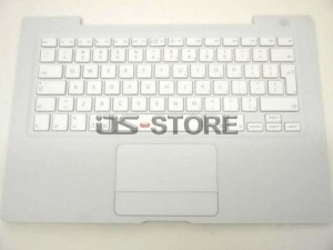 """Keyboard with Top Case frame replacement for Apple MacBook 13"""" 13.3"""" A1181 A1185 MB061 MB062 MB063 MB064 MB065 MB881 Multi Language White Black"""