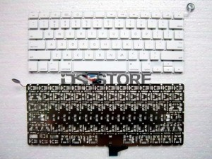 """Keyboard replacement for Apple MacBook 13"""" 13.3"""" A1181 A1185 MB061 MB062 MB063 MB064 MB402 MB403 MB404 MC240 Multi Language White Black"""