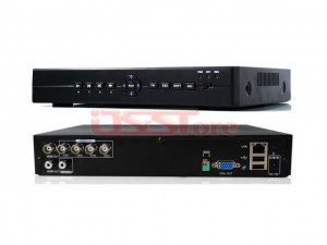 H.264 4CH CCTV DVR Recorder Full D1 Recording Playback Network Standalone DVR Recorder with 1CH Audio