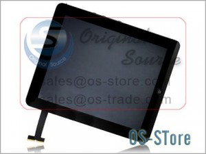 """9.7"""" Full LCD Display Screen+Touch Digitizer Glass Panel Wifi + 3G Replacement for apple IPad 1st"""