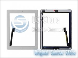 "9.7"" LCD Touch Digitizer Glass Screen Panel Replacement for apple The New IPad 3 White"