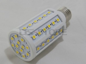 E27 13W 86x5050 SMD White / Warm Light LED Corn Bulb Lamp 110V-240V