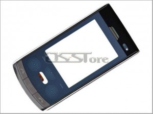 "2.4"" LCD Touch Digitizer Screen Panel with Front Cover Replacement for LG KF750 KF755 Secret"