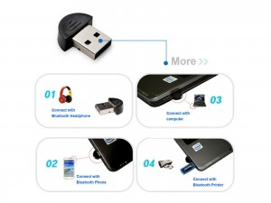 USB 2.0 Bluetooth Adapter