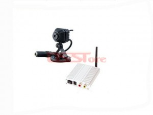 2.4Ghz 4CH Ultra-small Wireless Camera Kit 380TVL CMOS Color Image Sensor