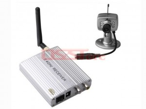 Ultra Small 4Channel Wireless Camera Kit Built-in Microphone1/3 CMOS 380TVL Image Sensor