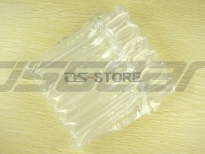 Single cover Lid Air Column Bag Cushion Packaging Packing Foam Bubble Wrap for Bottle Red wine