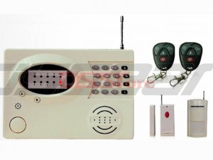 Wireless Voice Telephone Network Security GSM Home Alarm System