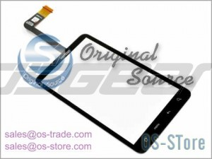 "4.3"" Touch Digitizer Glass Screen Panel Replacement for HTC Verizon ThunderBolt 4G"